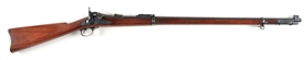 (A) HIGH CONDITION US SPRINGFIELD MODEL 1888 TRAPDOOR RAMROD BAYONET RIFLE.
