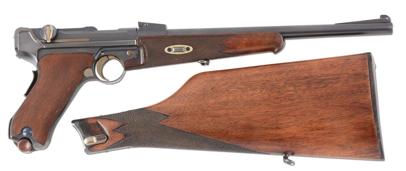 Lot Detail - (C) DWM 1902 Luger Carbine Semi-Automatic Pistol