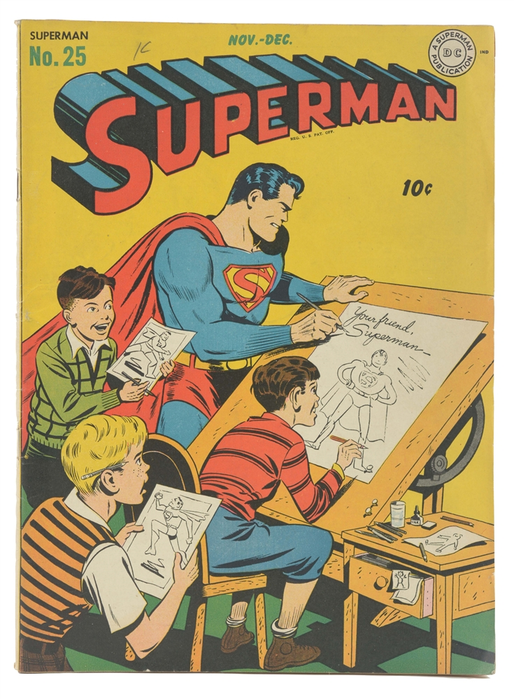 1943 Superman Comic No. 25.