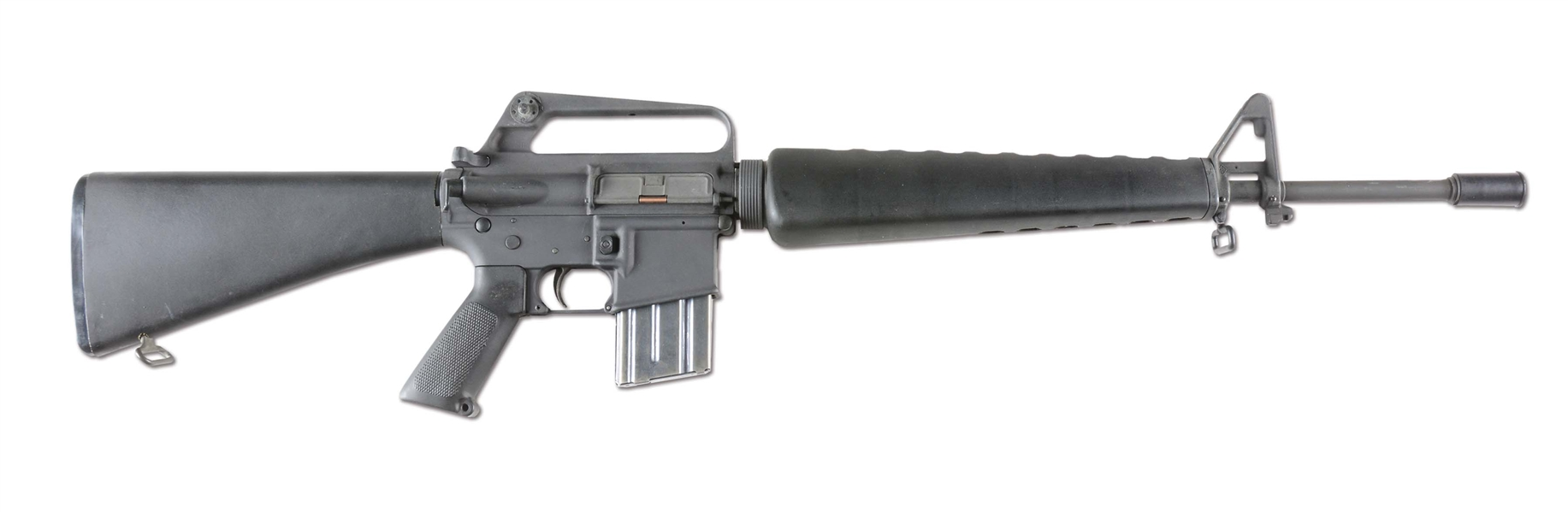 (N) EXCEPTIONAL HIGH CONDITION UNFIRED COLT M16A1 MACHINE GUN (FULLY TRANSFERABLE).