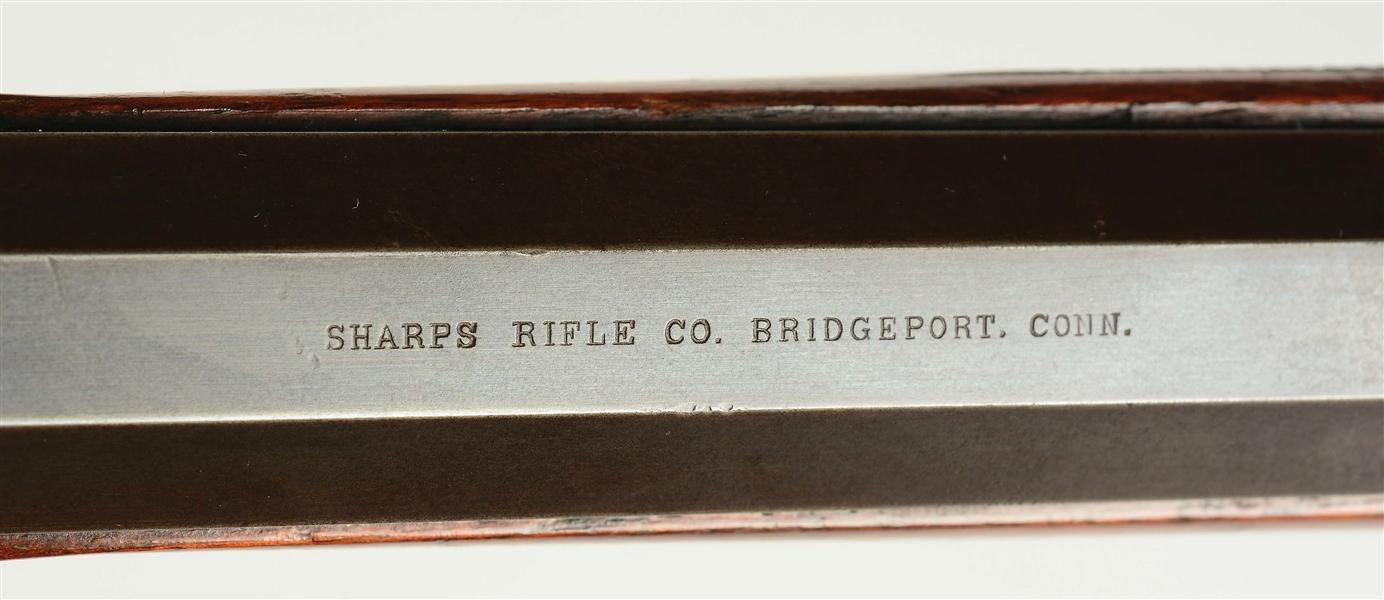 Lot Detail - (A) Rare Factory Order Sharps Model 1874 Schuetzen