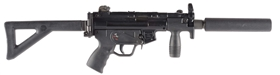 (N) FANTASTIC HK MP5K MACHINE GUN (FULLY TRANSFERABLE) WITH AWC SUPPRESSOR.