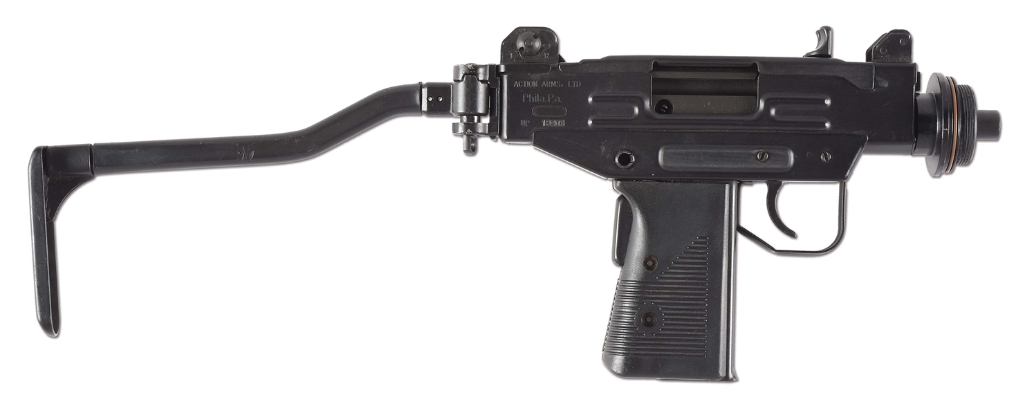 Lot Detail - (N) ACTION ARMS/IMI UZI PISTOL HOST GUN WITH