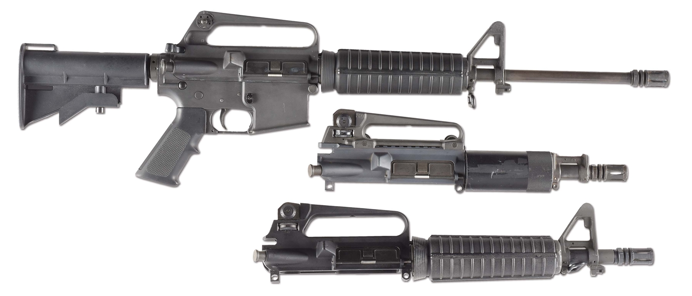 (N) COLT AR-15 A2 SPORTER II HOST GUN WITH REGISTERED MACHINE GUN SEAR (FULLY TRANSFERABLE).