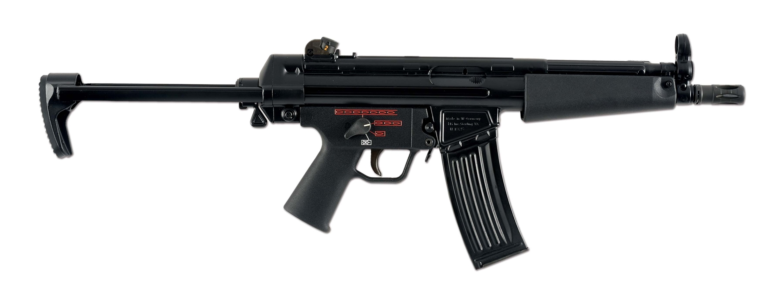 (N) FOUR POSITION HECKLER & KOCH MACHINE GUN AUTO SEAR KIT ON H & K MODEL 53 HOST GUN (FULLY TRANSFERABLE)