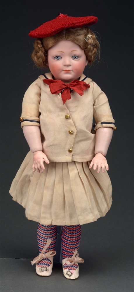 "15"" JDK 189 CLOSED MOUTH CHARACTER GIRL."