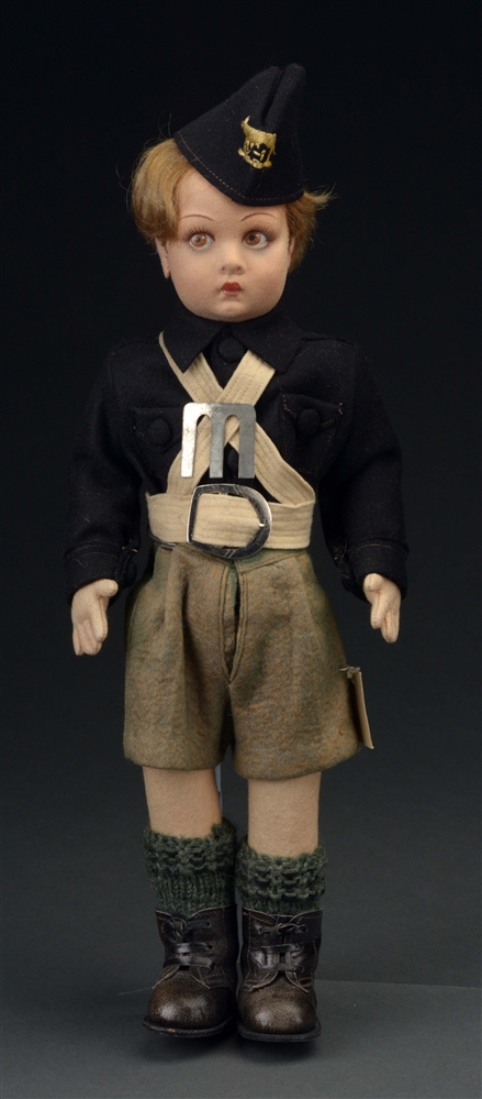 LENCI FACIST YOUTH CHARACTER DOLL.
