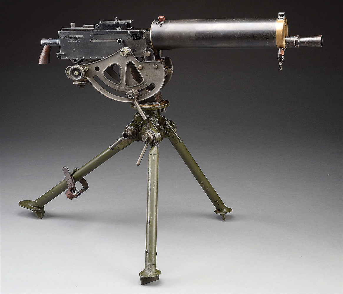 (N) VERY ATTRACTIVE ERB REGISTERED COLT MODEL 1928 COMMERCIAL BROWNING WATER COOLED MACHINE GUN (FULLY TRANSFERABLE).