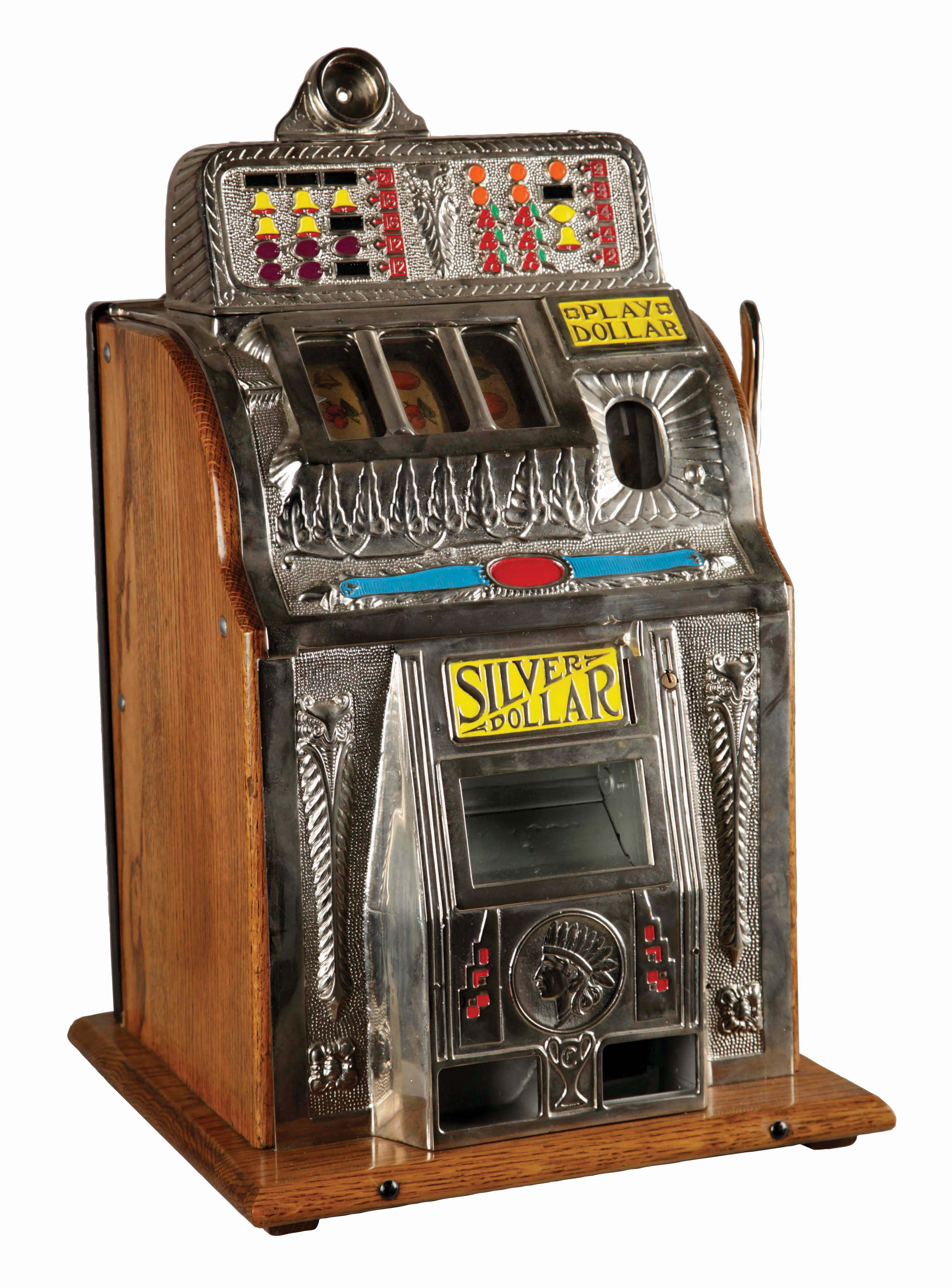 Slot Machine With Built In Ashtray