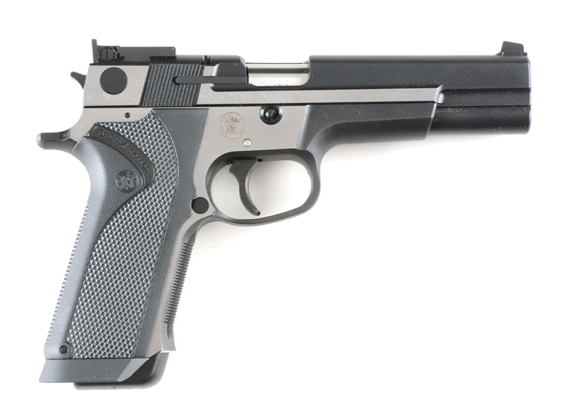 (M) SMITH & WESSON PERFORMANCE CENTER 3566 IN .356 TSW WITH APPROXIMATELY 600 ROUNDS OF AMMO.