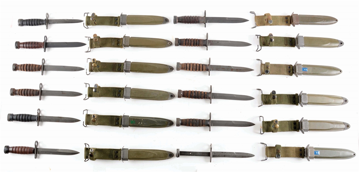 Lot Detail - COLLECTORS ASSORTMENT OF US MILITARY M4