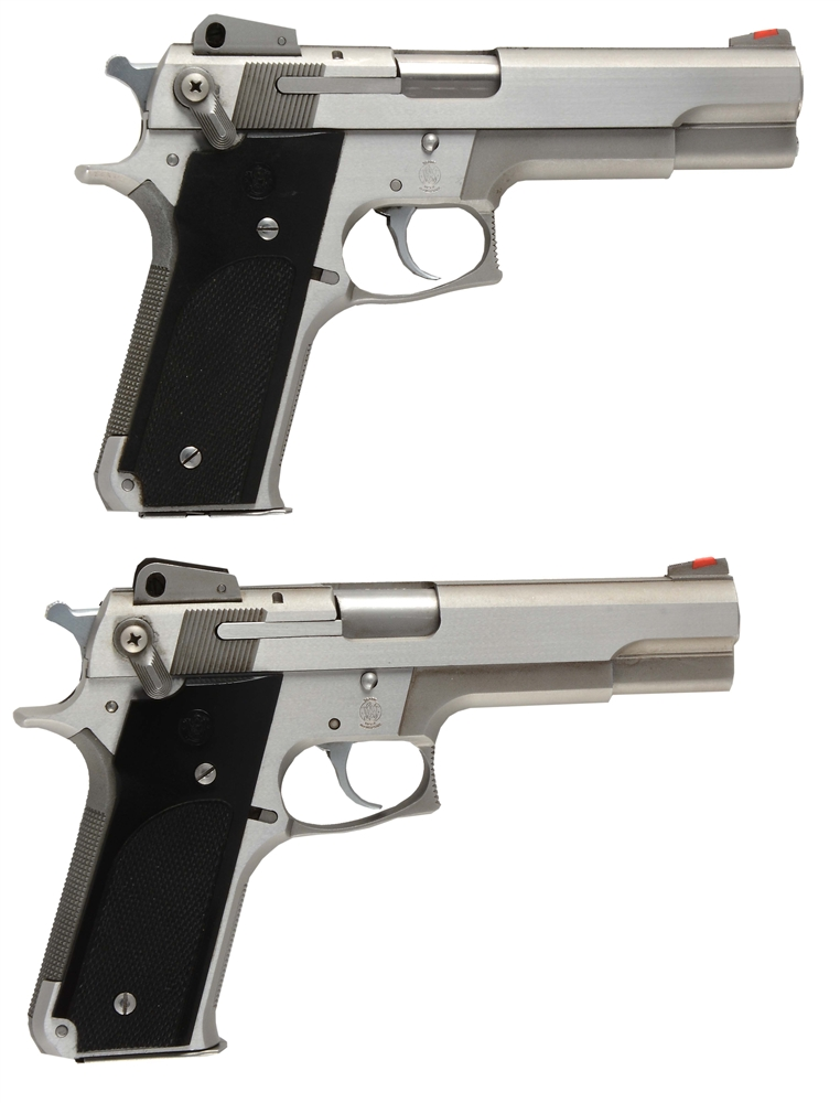 (M) LOT OF 2: SMITH & WESSON MODEL 645 SEMI-AUTOMATIC PISTOLS.