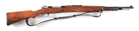 (C) SPANISH FABRICADE ARMAS MAUSER M1943 BOLT ACTION SHORT RIFLE.