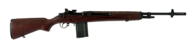 (N) HIGH CONDITION SPRINGFIELD ARMORY M1A (M14) MACHINE GUN WITH ORIGINAL BOX (FULLY TRANSFERABLE).
