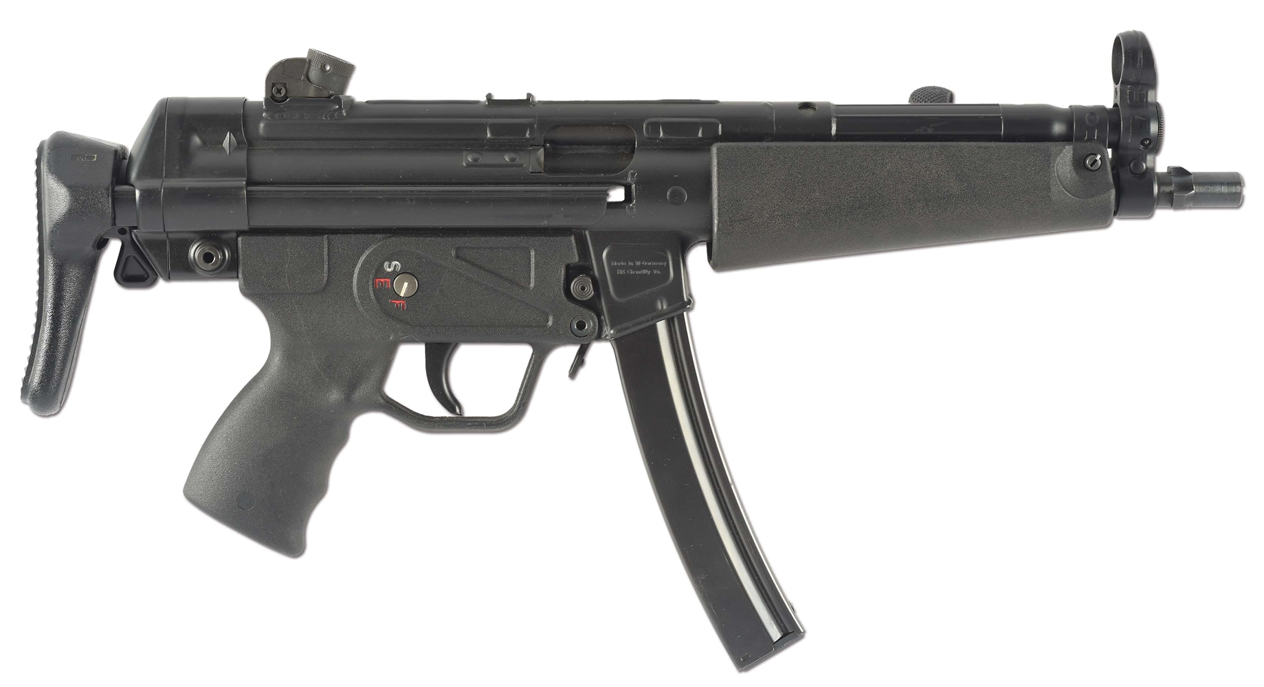 (N) VERY POPULAR FLEMING FIREARMS HECKLER & KOCH REGISTERED AUTO SEAR MACHINE GUN IN H&K HOST MP5 (FULLY TRANSFERABLE).
