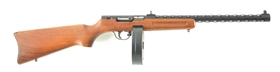 (N) SCARCE COLT REGISTERED FULL-AUTO BINGHAM PPS-50 .22 LR MACHINE GUN LOOK-ALIKE OF RUSSIAN PPSH-41 (FULLY TRANSFERABLE).
