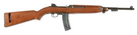 (N) EXCEPTIONALLY FINE WORLD WAR II INLAND M2 CARBINE MACHINE GUN (CURIO & RELIC).