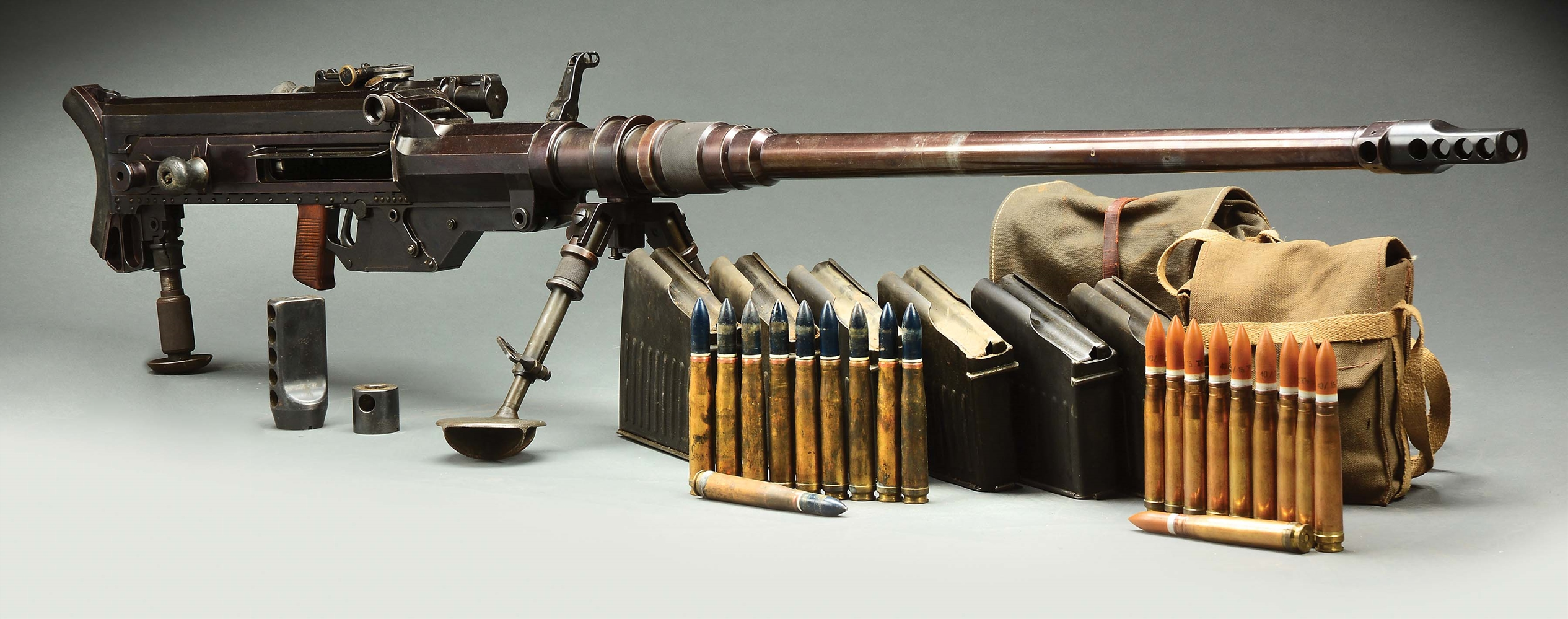 (D) EXCEPTIONAL MATCHING SOLOTHURN S18-1000 ANTI-TANK RIFLE (DESTRUCTIVE DEVICE).