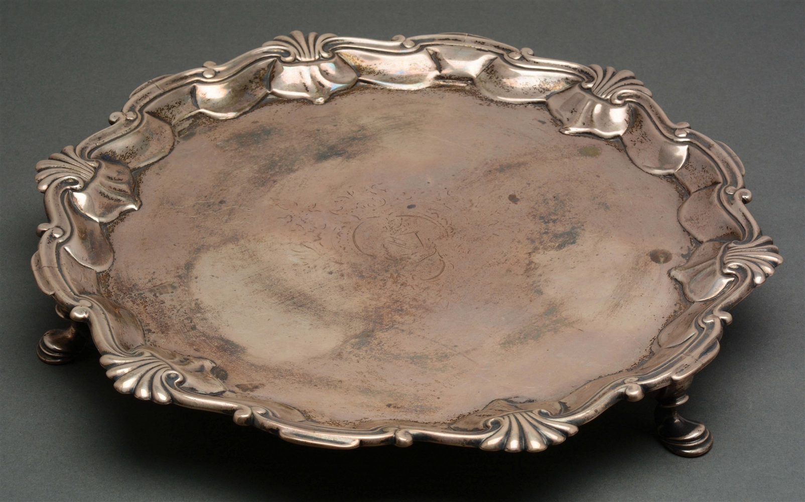 An English Silver Salver.