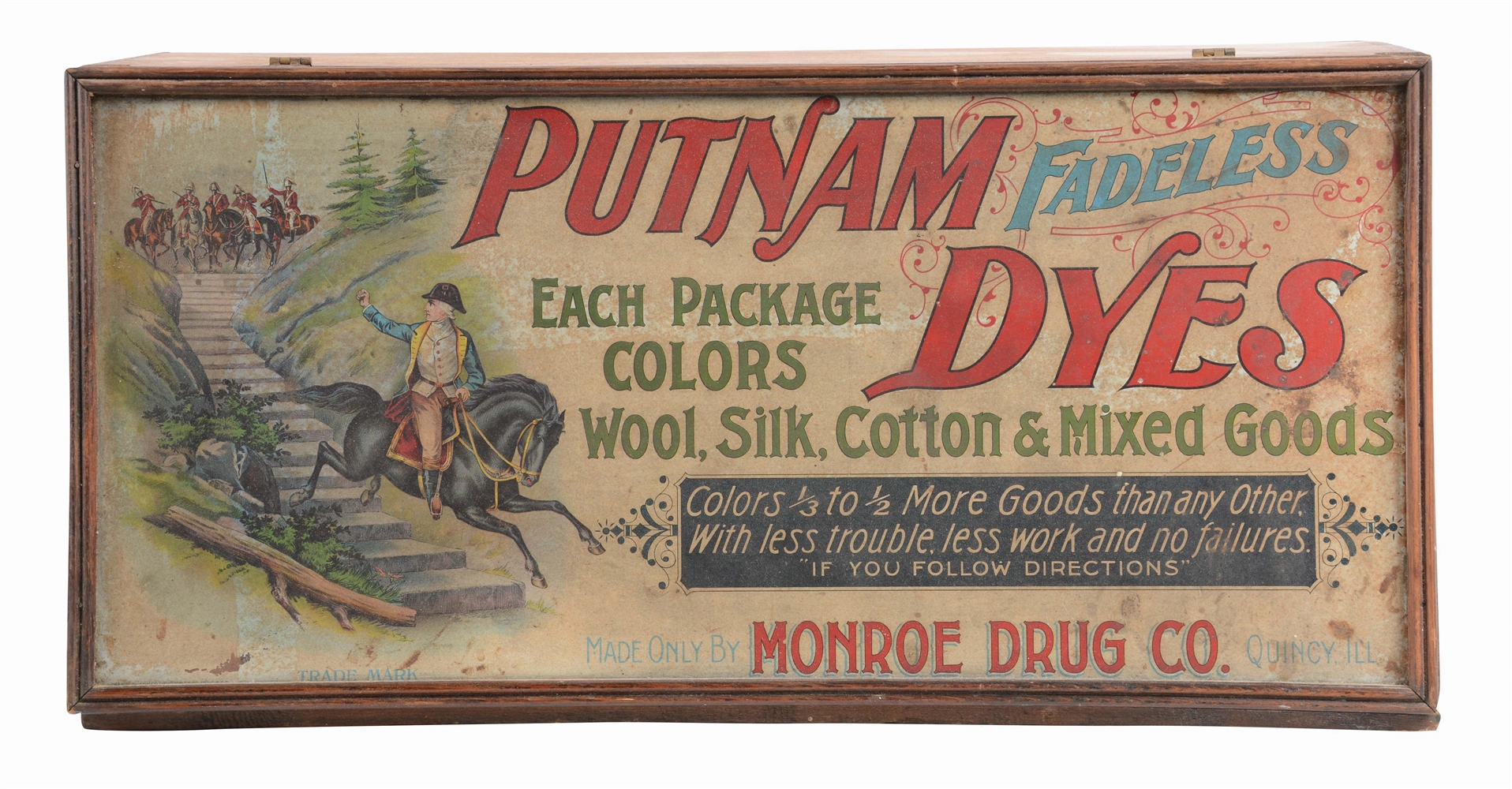 LOT OF 2: SLADES PURE SPICES AND PUTNAM DYES CASES.