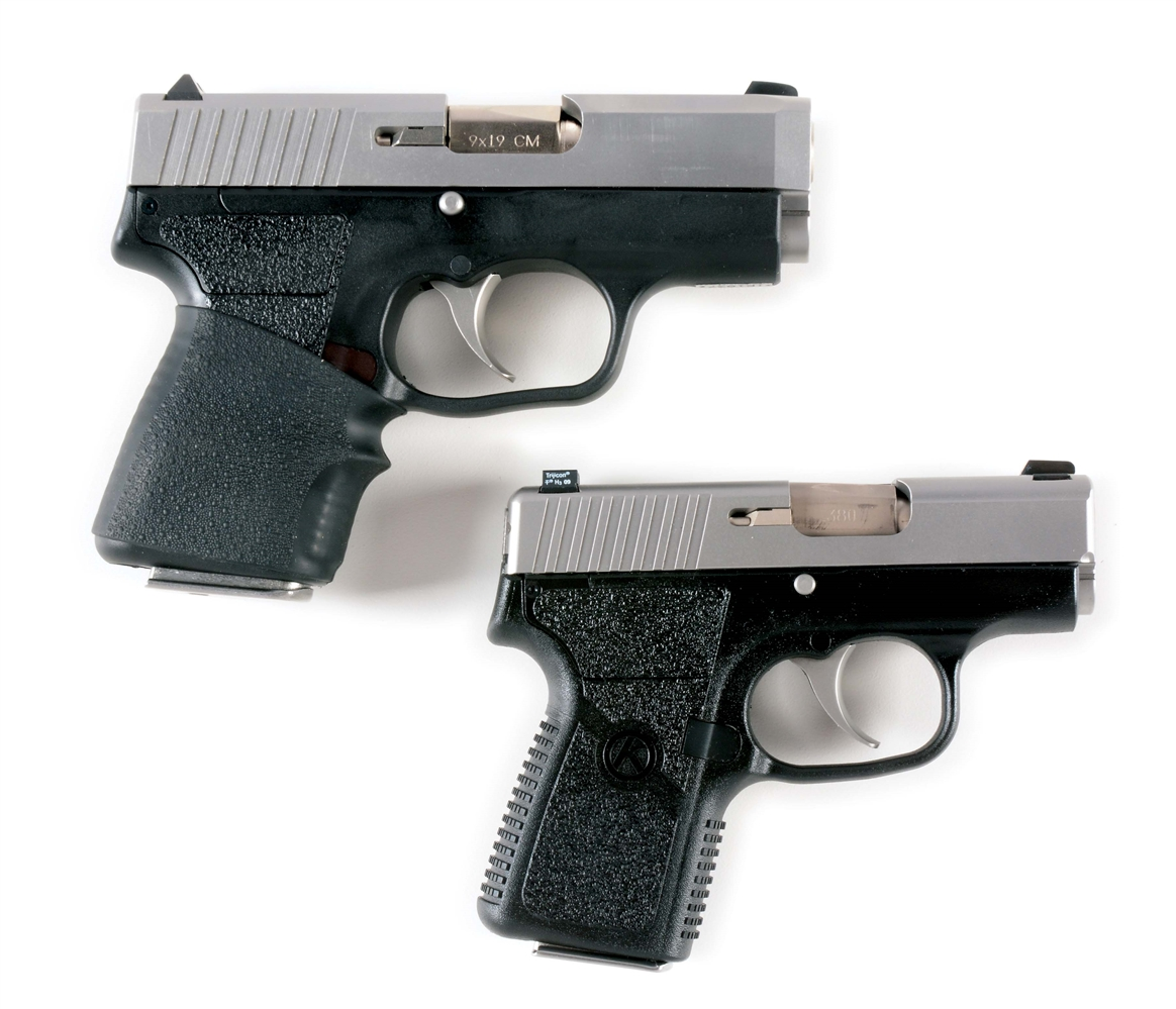 (M) LOT OF 2: TWO KAHR SEMI-AUTOMATIC PISTOLS.