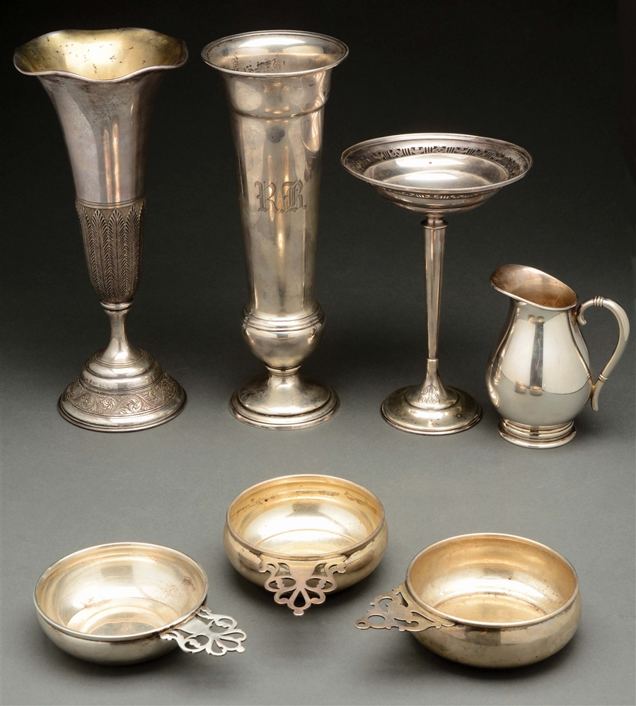 A Group of Sterling Articles.