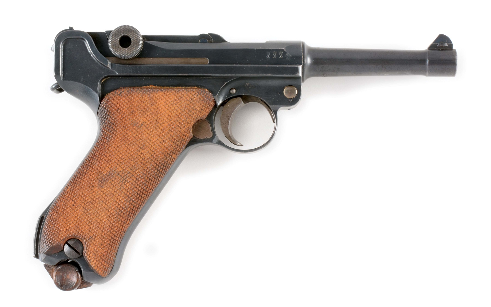 (C) DWM 1918 DATED LUGER SEMI-AUTOMATIC PISTOL.