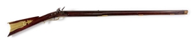(A) EARLY TRYON FLINTLOCK RIFLE.