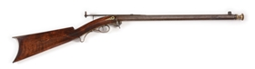 (A) MID-19TH CENTURY UNDER-HAMMER PERCUSSION BUGGY RIFLE BY TRYON.
