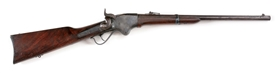 (A) CIVIL WAR SPENCER MODEL 1860 SADDLE RING CARBINE.