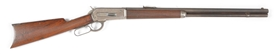 (A) WINCHESTER 1886 LEVER ACTION RIFLE (1896).
