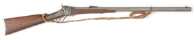 (A) SHARPS 1874 SINGLE SHOT RIFLE.