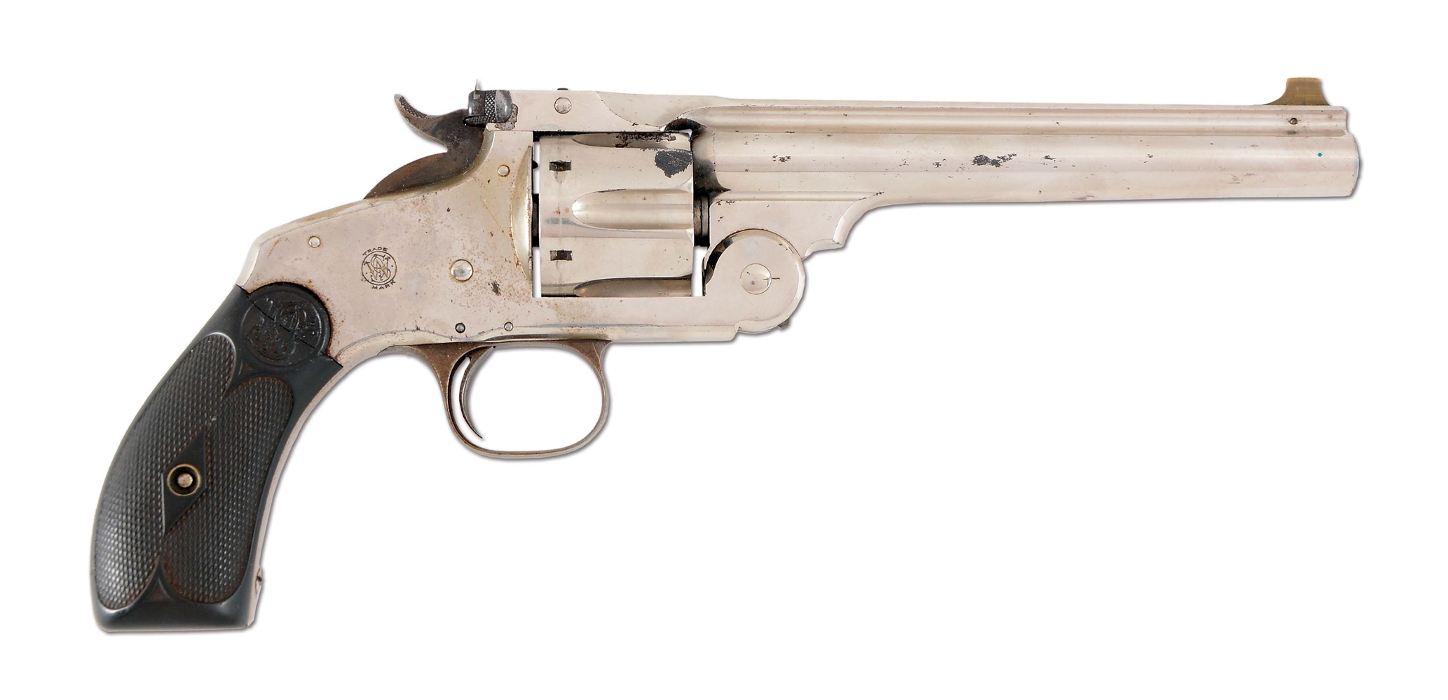 (A) SMITH & WESSON NEW MODEL NUMBER 3 TARGET .38-44 REVOLVER.