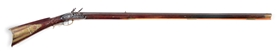 (A) GIBBS LANCASTER FLINTLOCK KENTUCKY RIFLE.