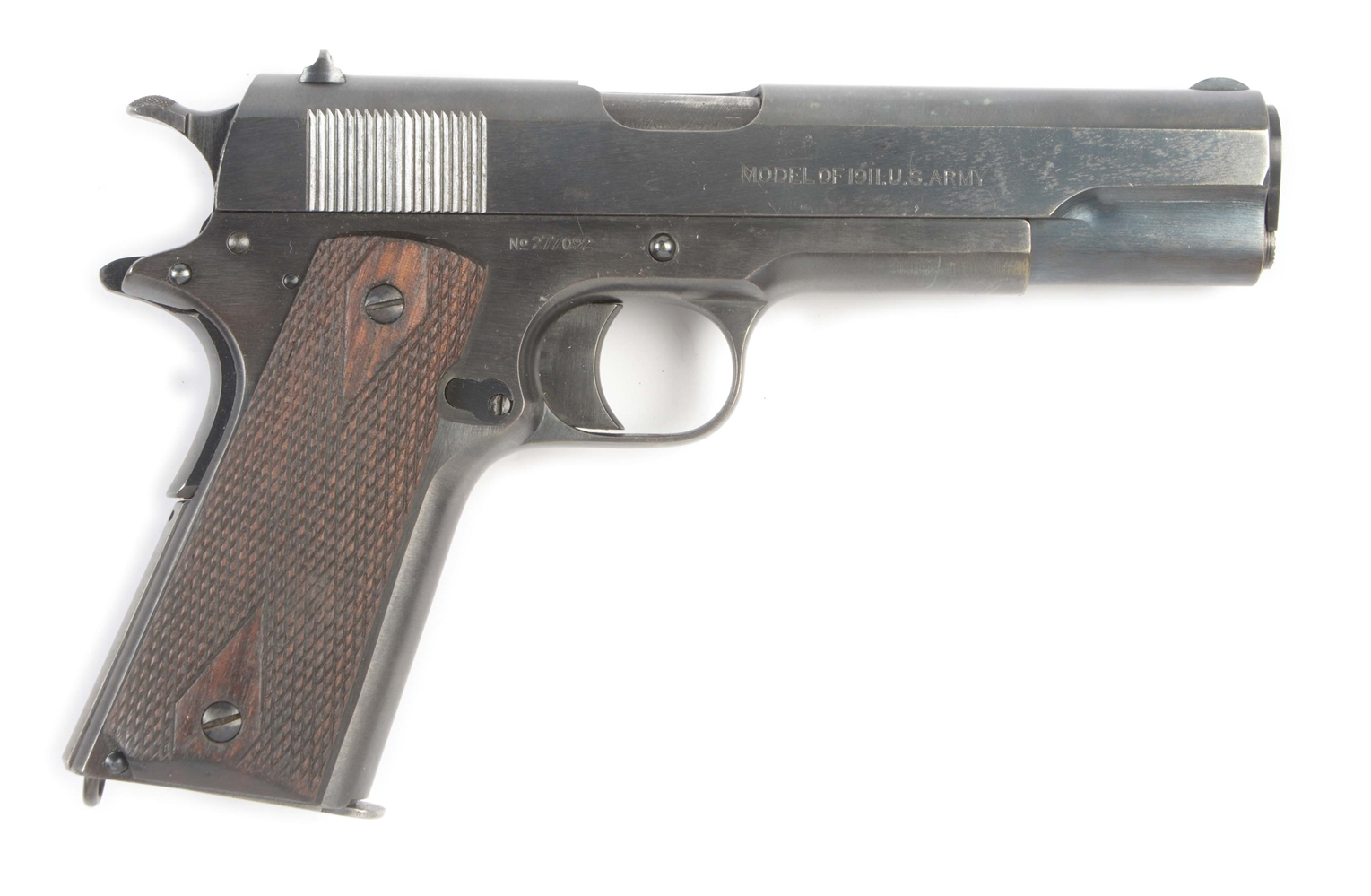 (C) HIGH CONDITION COLT MODEL 1911 US ARMY SEMI-AUTOMATIC PISTOL (1918).