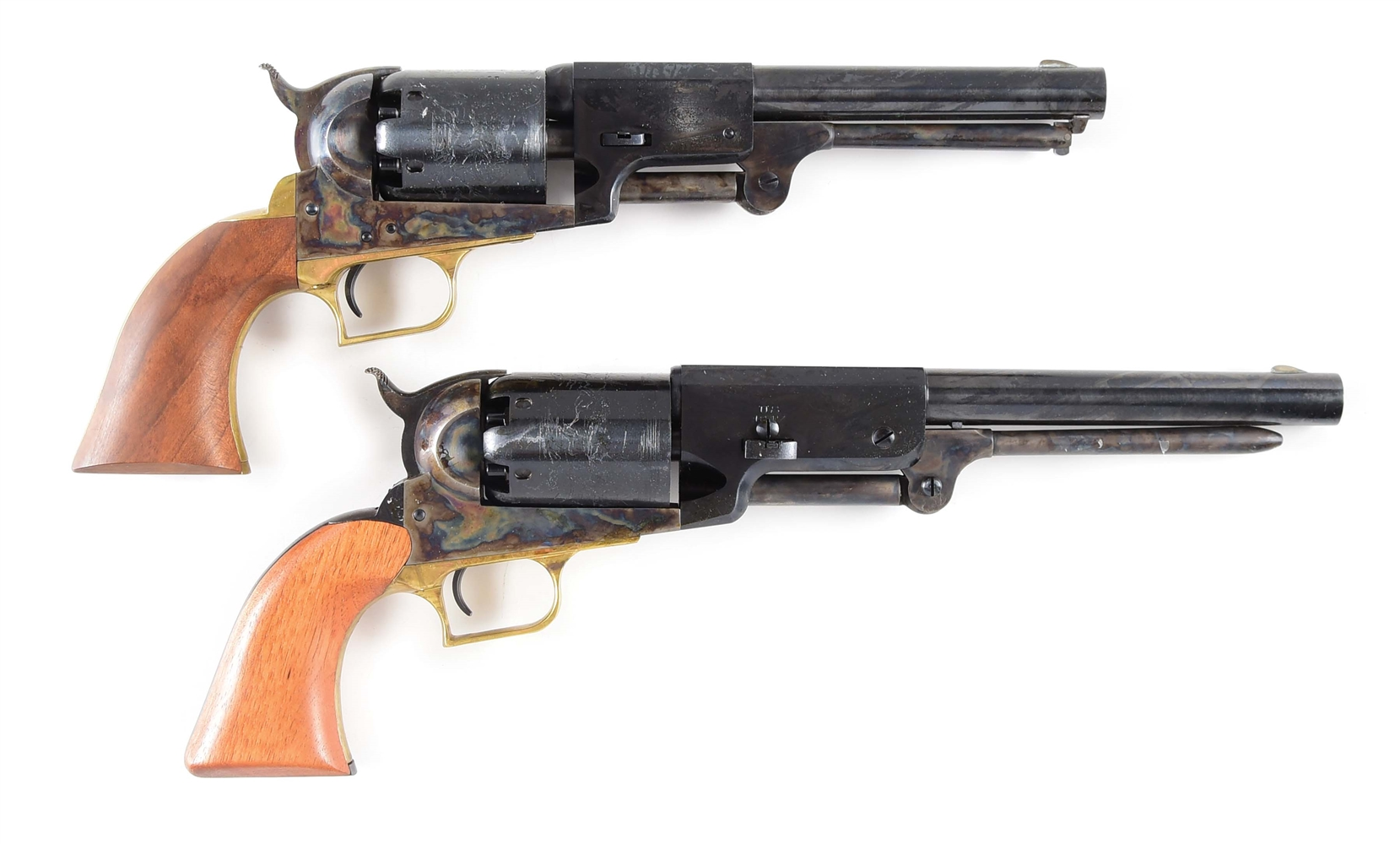 (A) LOT OF 2: COLT 2ND GENERATION 1ST MODEL DRAGOON AND COLT 2ND GENERATION 1847 WALKER.