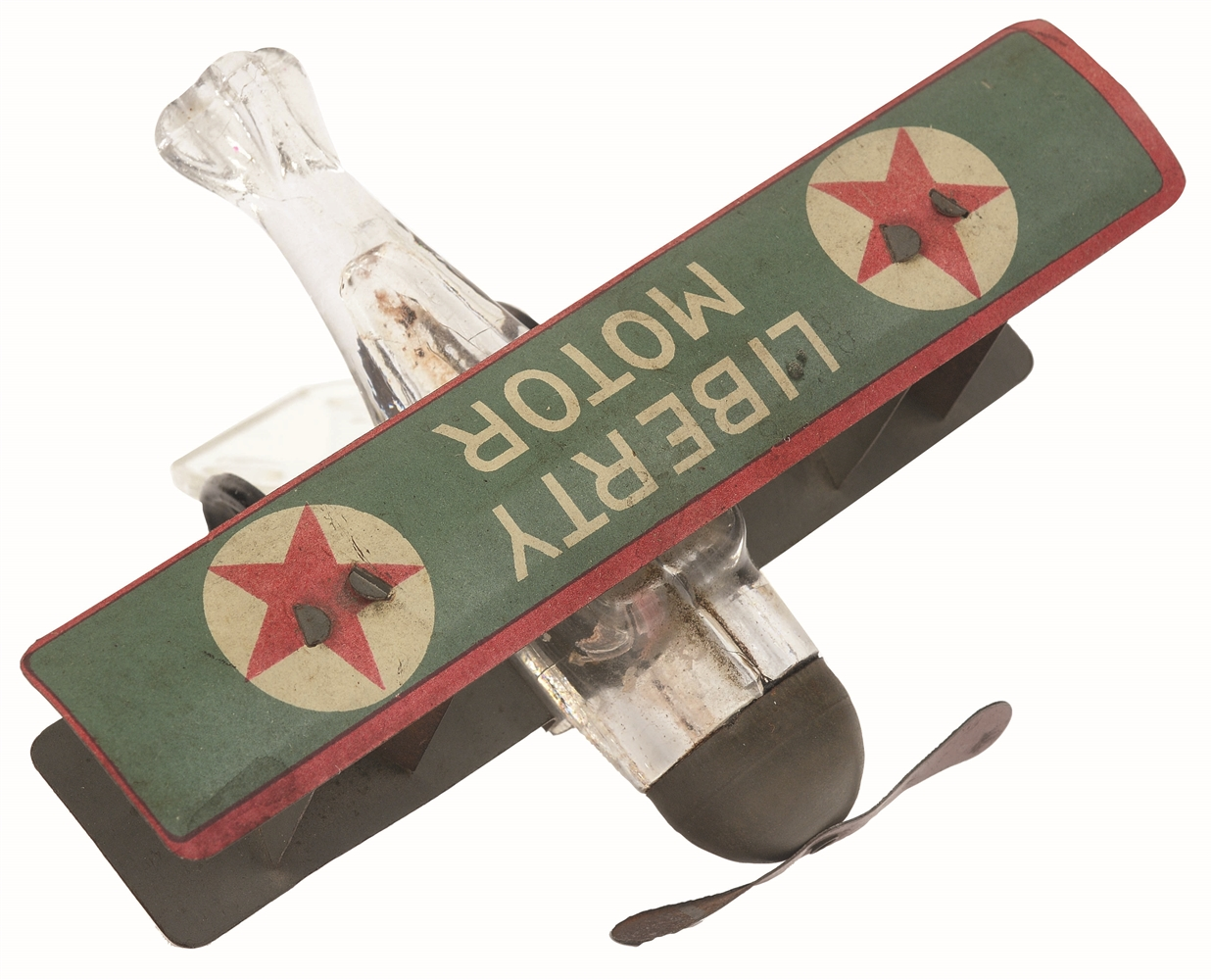 Liberty Motor Airplane Candy Container.