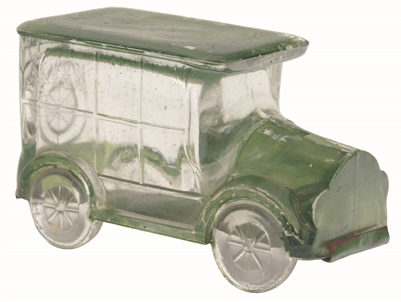 Flat-Top Hearse Car Candy Container.