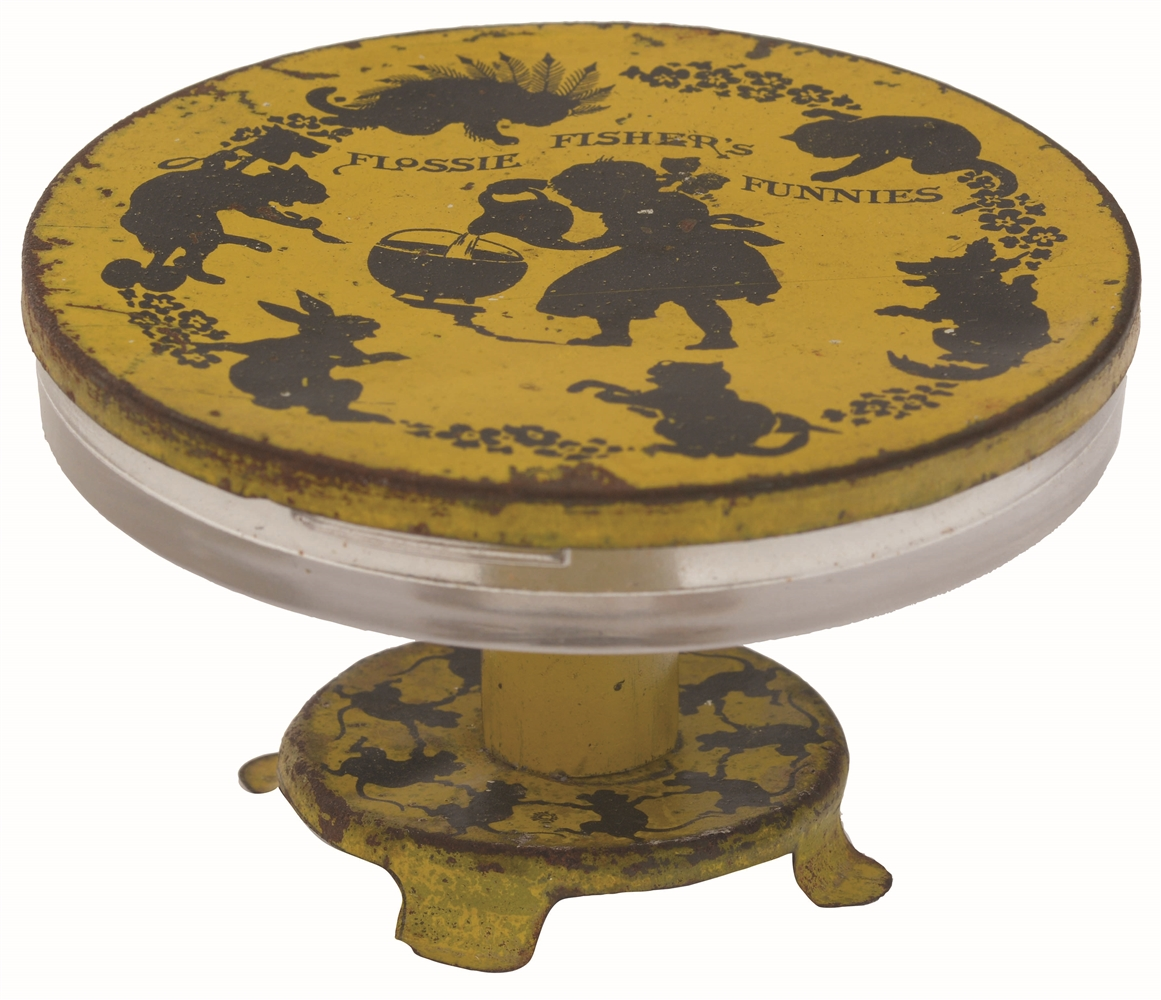 Flossie Fisher Table Candy Container.