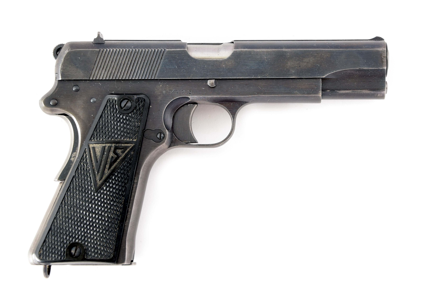 (C) GERMAN OCCUPATION MANUFACTURED P-35 RADOM PISTOL.