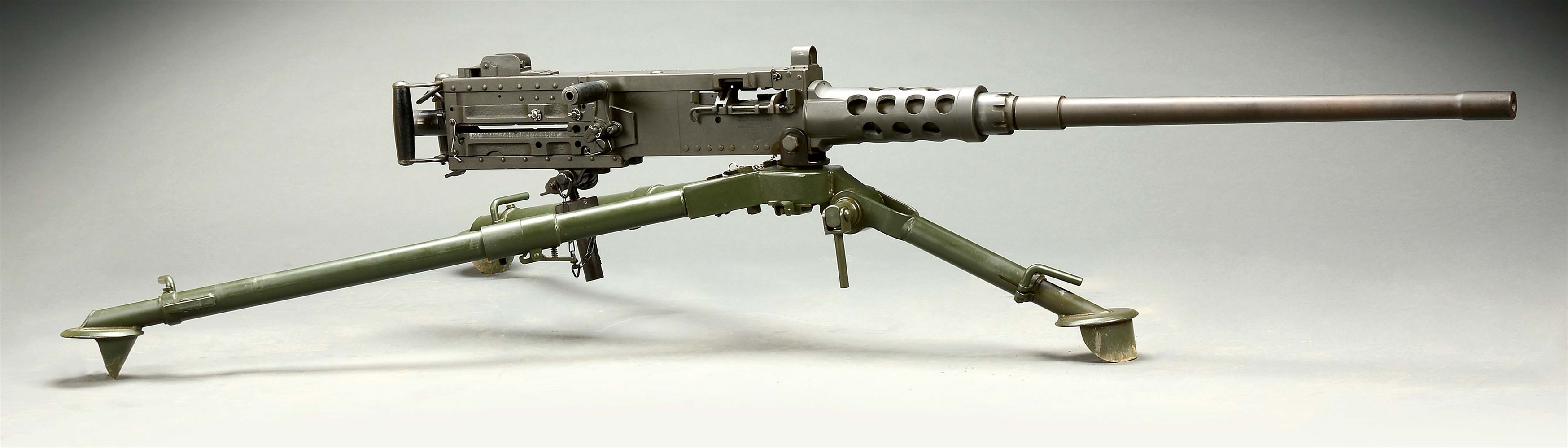 (N) HIGHLY SOUGHT RAMO SIDEPLATE BROWNING M2 .50 CAL MACHINE GUN (FULLY TRANSFERABLE)