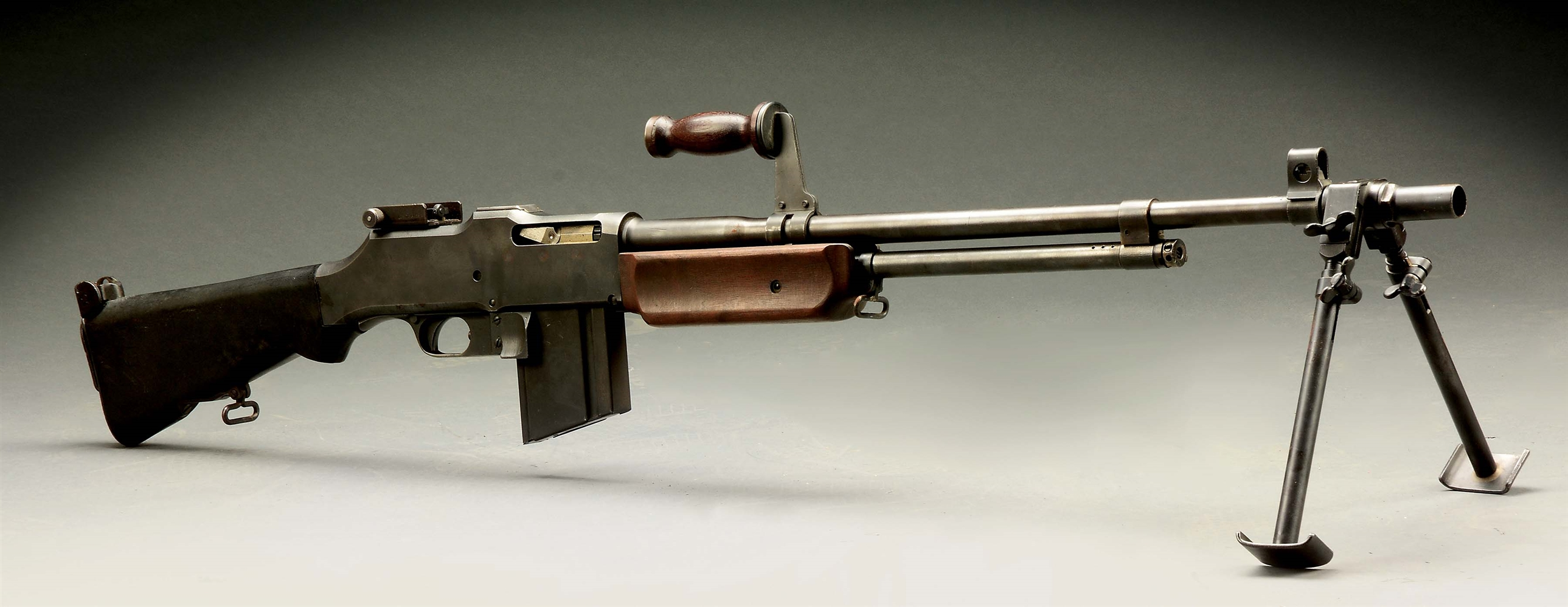 (N) GROUP INDUSTRIES 1918A2 BROWNING AUTOMATIC RIFLE MACHINE GUN (FULLY TRANSFERABLE).