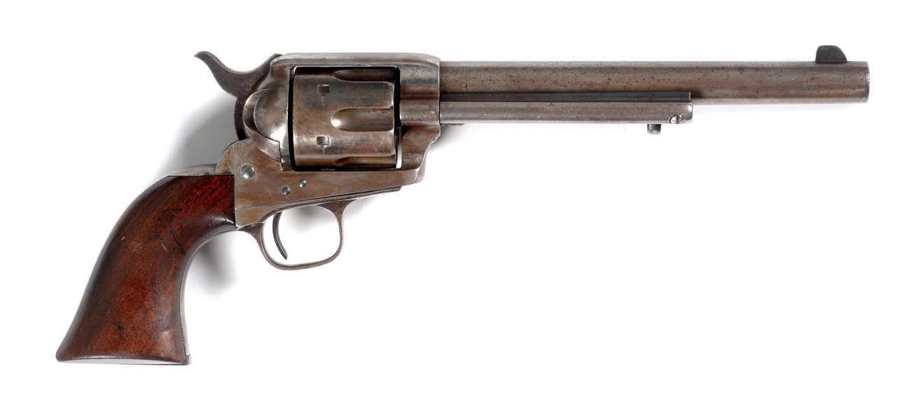 (A) FINE AINSWORTH INSPECTED CUSTER RANGE US CAVALRY COLT SINGLE ACTION REVOLVER (1874).
