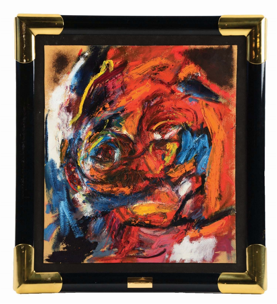 KAREL APPEL (DUTCH, 1921 - 2006) THE FACE IN THE STREET.