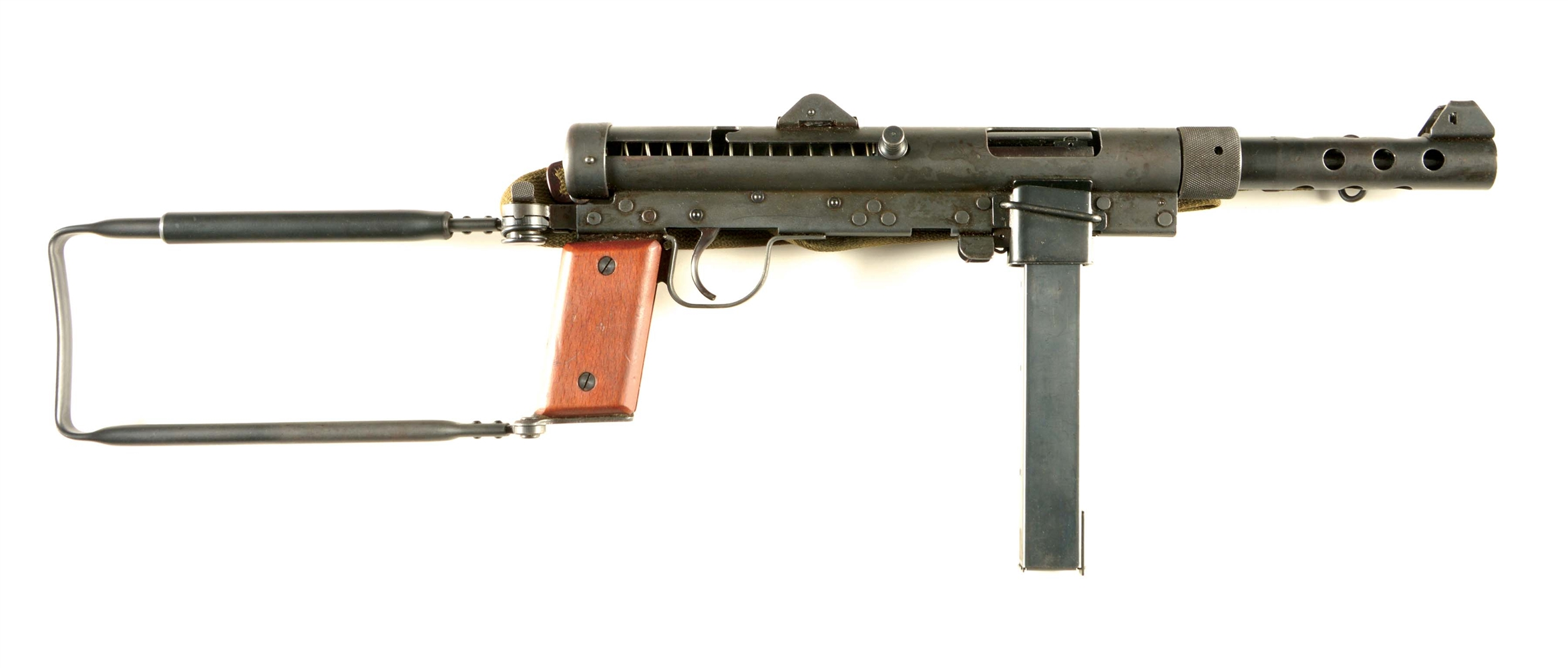 (N) ABSOLUTELY BEAUTIFUL NEAR MINT HIGHLY DESIRABLE ORIGINAL FIRST PRODUCTION MODEL CARL GUSTAF M/45 SWEDISH K MACHINE GUN (PRE-86 DEALER SAMPLE).