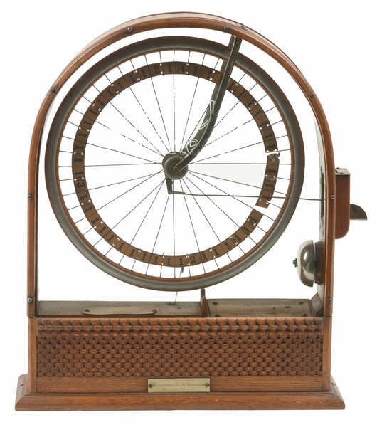 THE WADDEL BICYCLE WHEEL TRADE STIMULATOR.