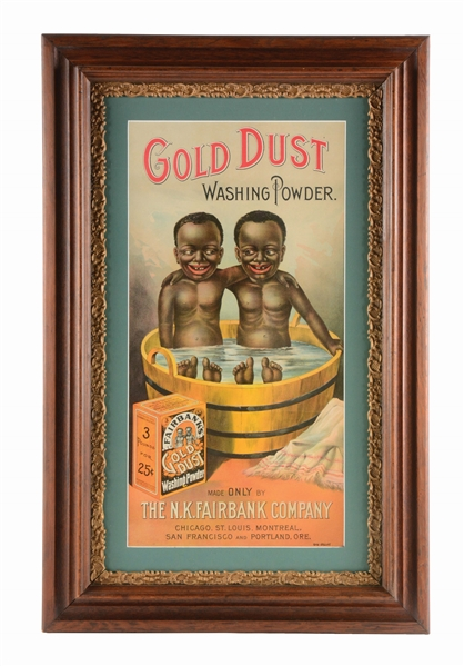 GOLD DUST WASHING POWDER SIGN.