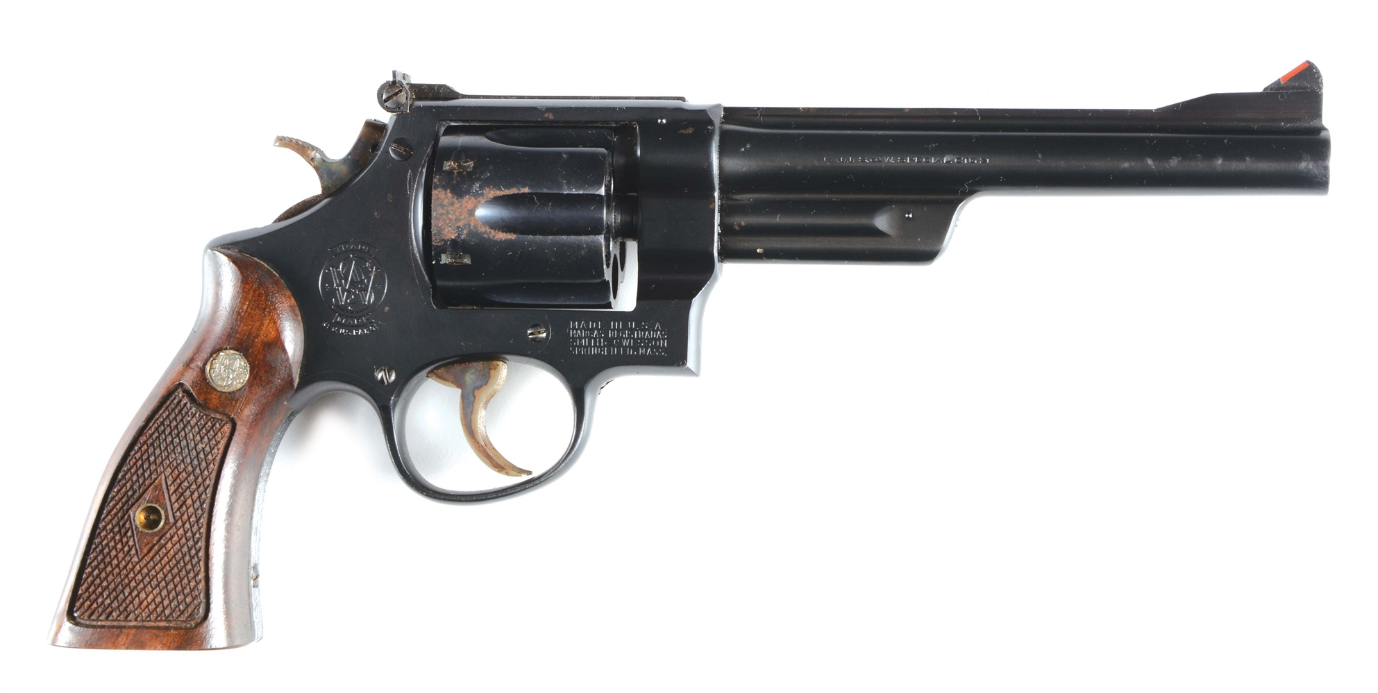 (C) SMITH & WESSON 1926 MODEL TARGET REVOLVER.