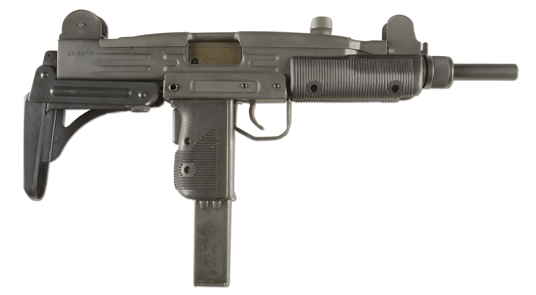 (N) DOCUMENTED VERY FIRST GROUP INDUSTRIES/VECTOR ARMS HR 4332 UZI MACHINE GUN (FULLY TRANSFERABLE).