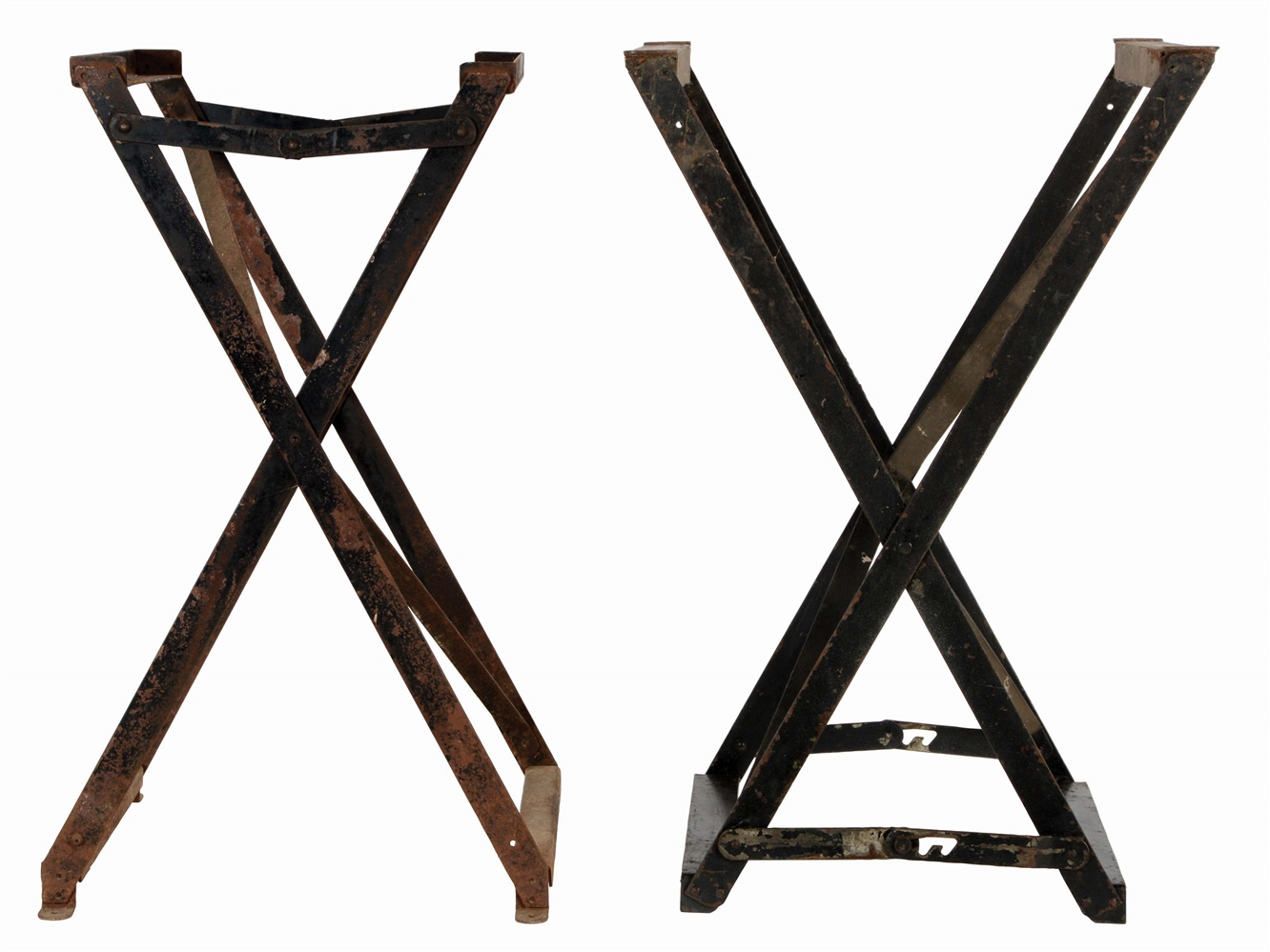 LOT OF 2: FOLDING SLOT STANDS.